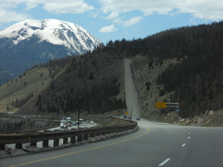 A Runaway Truck Ramp... ever seen one of those???