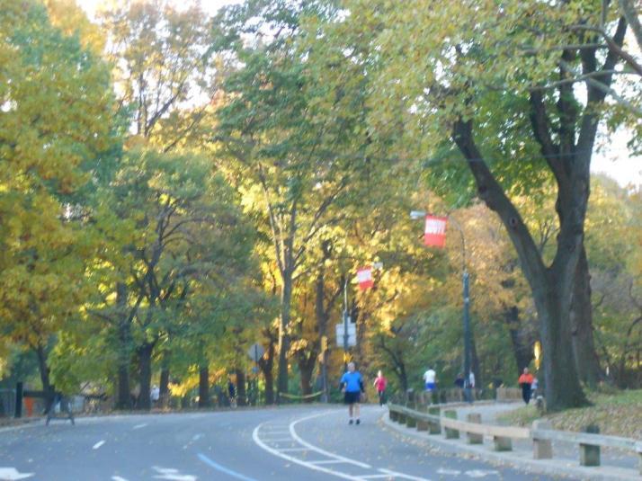 2011 New York City Marathon Footlocker Five Boro Challenge central Park