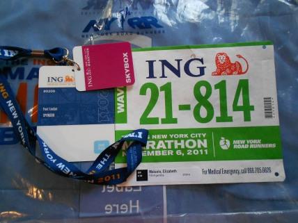 new york city marathon 2011 Footlocker five boro challenge nyrr elizabeth maiuolo