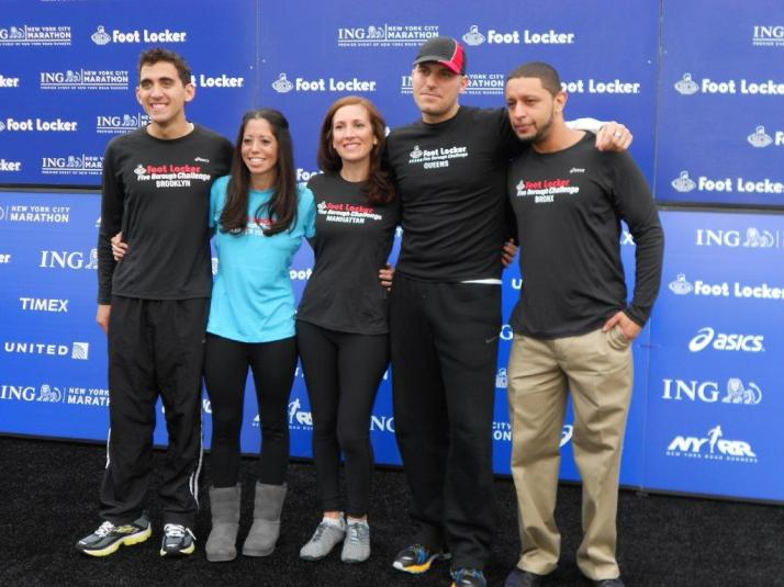 footlocker five boro challenge team new york city marathon 2011 press conference (107)