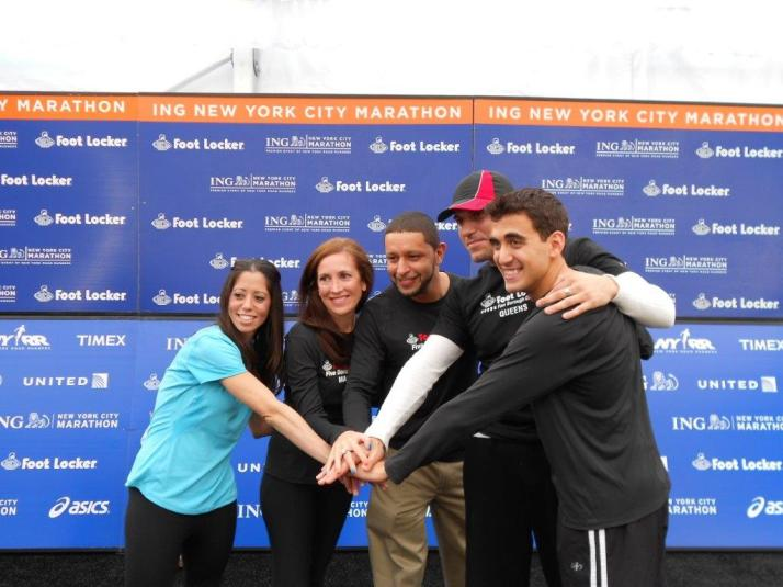 footlocker five boro challenge team new york city marathon 2011 press conference (135)