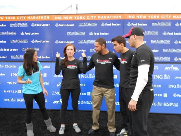 footlocker five boro challenge team new york city marathon 2011 press conference (142)