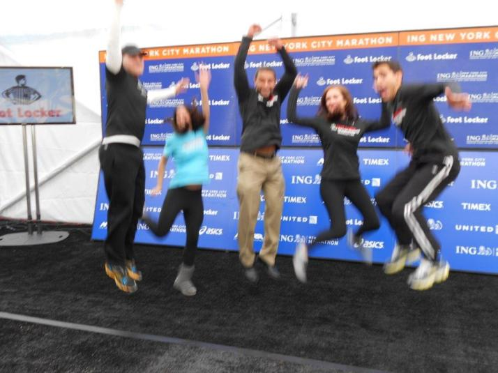 footlocker five boro challenge team new york city marathon 2011 press conference (145)