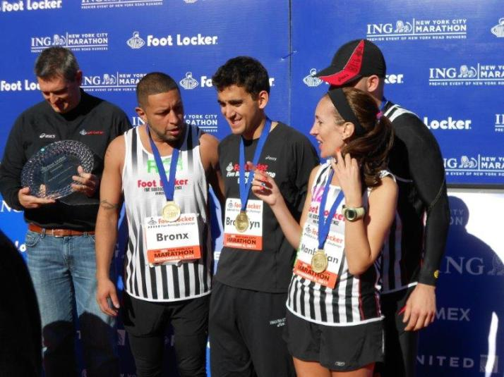 New York City Marathon 2011 footlocker five boro challenge (1)