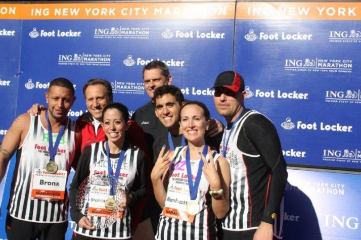 New York City Marathon 2011 footlocker five boro challenge (8)