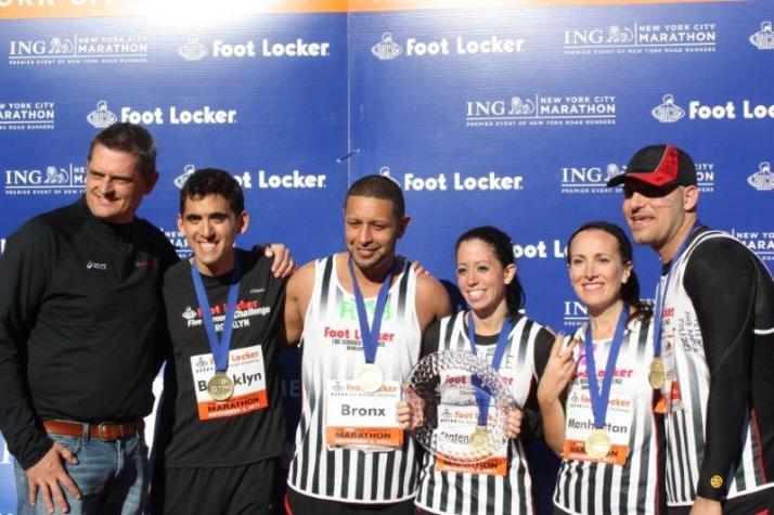 New York City Marathon 2011 footlocker five boro challenge (9)