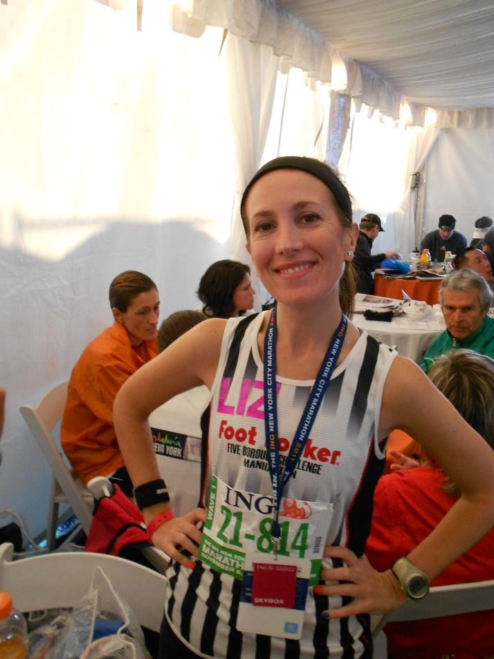 new york city marathon 2011 Footlocker five boro challenge nyrr elizabeth maiuolo 1