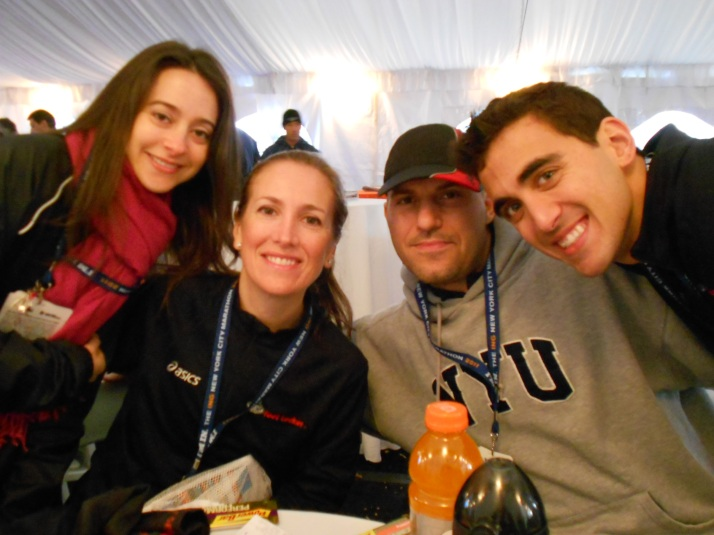 new york city marathon 2011 Footlocker five boro challenge nyrr elizabeth maiuolo 2