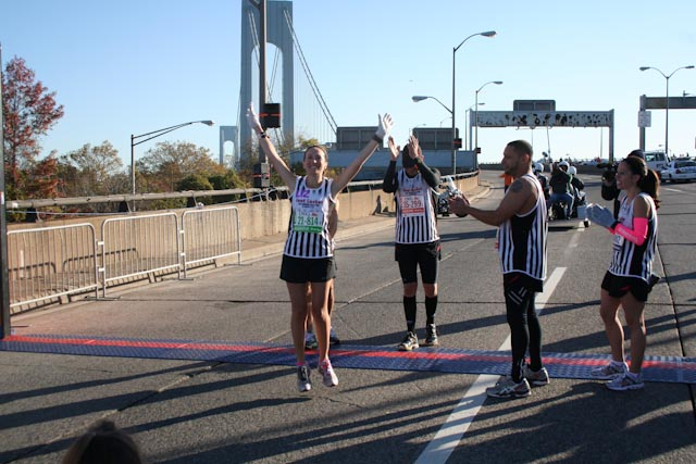 new york city marathon 2011 Footlocker five boro challenge nyrr elizabeth maiuolo  3 (1)