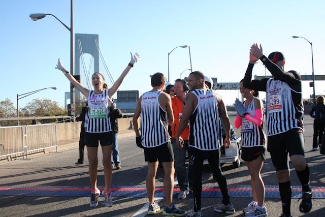 new york city marathon 2011 Footlocker five boro challenge nyrr elizabeth maiuolo  3 (2)