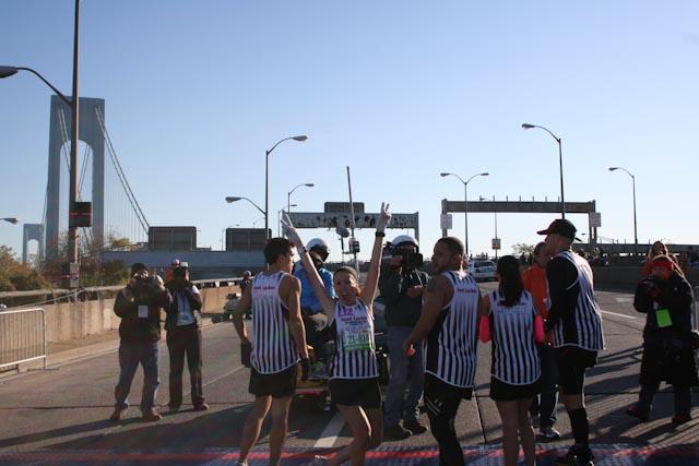 new york city marathon 2011 Footlocker five boro challenge nyrr elizabeth maiuolo  3 (3)
