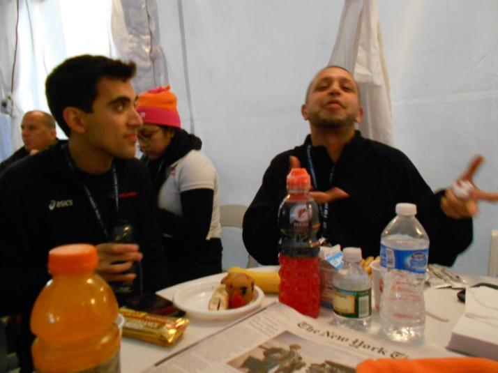 new york city marathon 2011 Footlocker five boro challenge nyrr elizabeth maiuolo 3