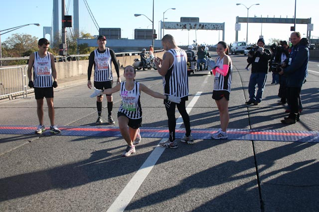 new york city marathon 2011 Footlocker five boro challenge nyrr elizabeth maiuolo  4 (1)
