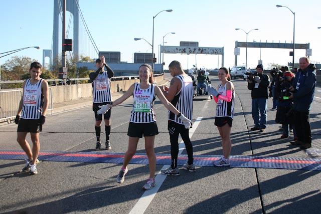 new york city marathon 2011 Footlocker five boro challenge nyrr elizabeth maiuolo  4 (2)