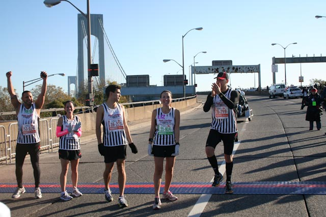 new york city marathon 2011 Footlocker five boro challenge nyrr elizabeth maiuolo  4 (3)