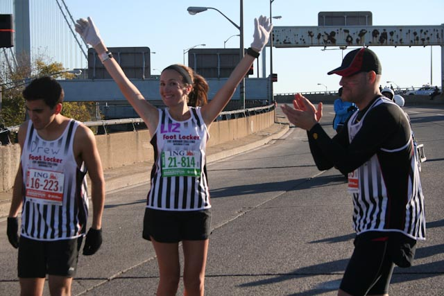 new york city marathon 2011 Footlocker five boro challenge nyrr elizabeth maiuolo  4 (4)