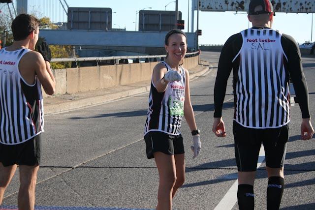 new york city marathon 2011 Footlocker five boro challenge nyrr elizabeth maiuolo  6 (2)