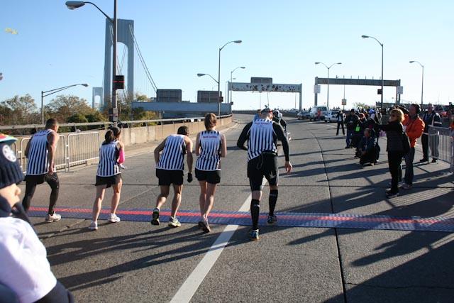 new york city marathon 2011 Footlocker five boro challenge nyrr elizabeth maiuolo  7 go (1)