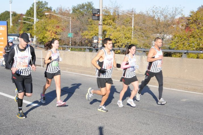 new york city marathon 2011 Footlocker five boro challenge nyrr elizabeth maiuolo  8 (1)