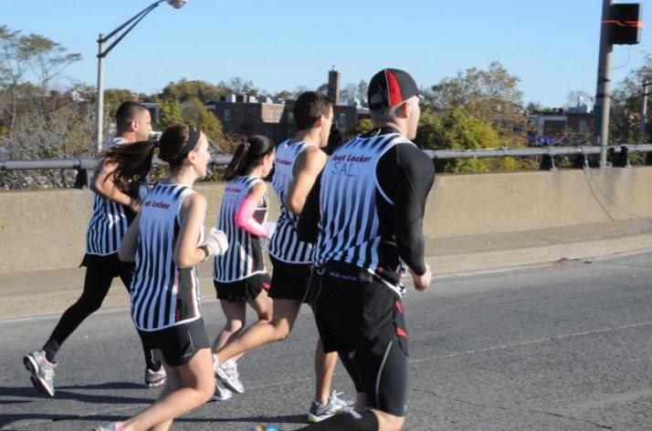new york city marathon 2011 Footlocker five boro challenge nyrr elizabeth maiuolo  8 (2)