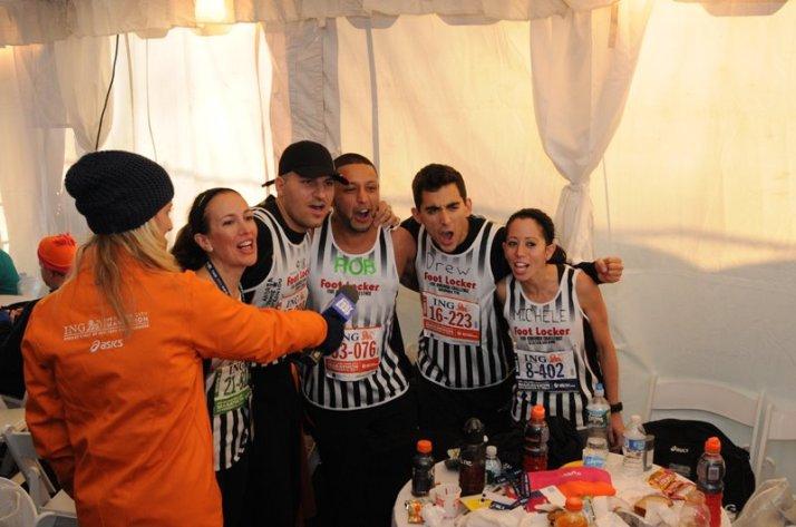 new york city marathon 2011 Footlocker five boro challenge nyrr elizabeth maiuolo carrie tollefson