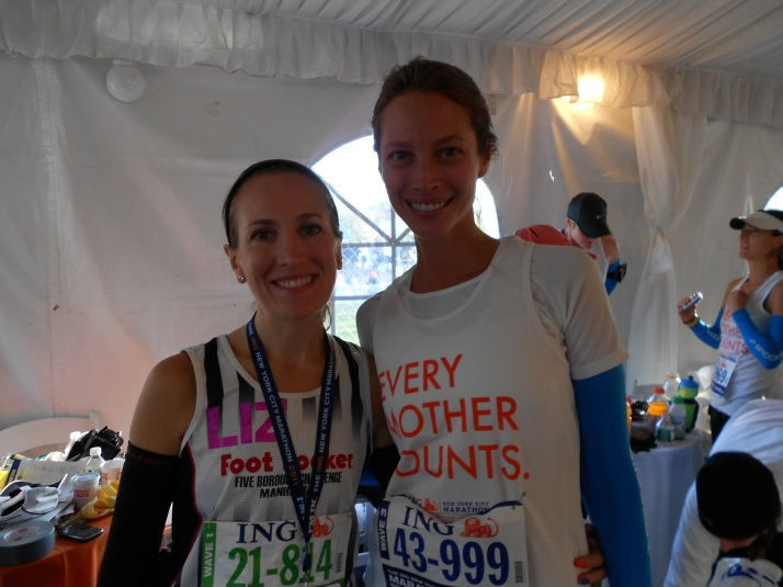 new york city marathon 2011 Footlocker five boro challenge nyrr elizabeth maiuolo christie turlington