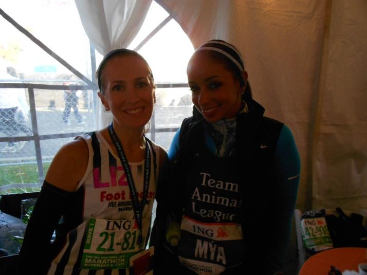 new york city marathon 2011 Footlocker five boro challenge nyrr elizabeth maiuolo mya