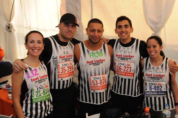 new york city marathon 2011 Footlocker five boro challenge nyrr elizabeth maiuolo team