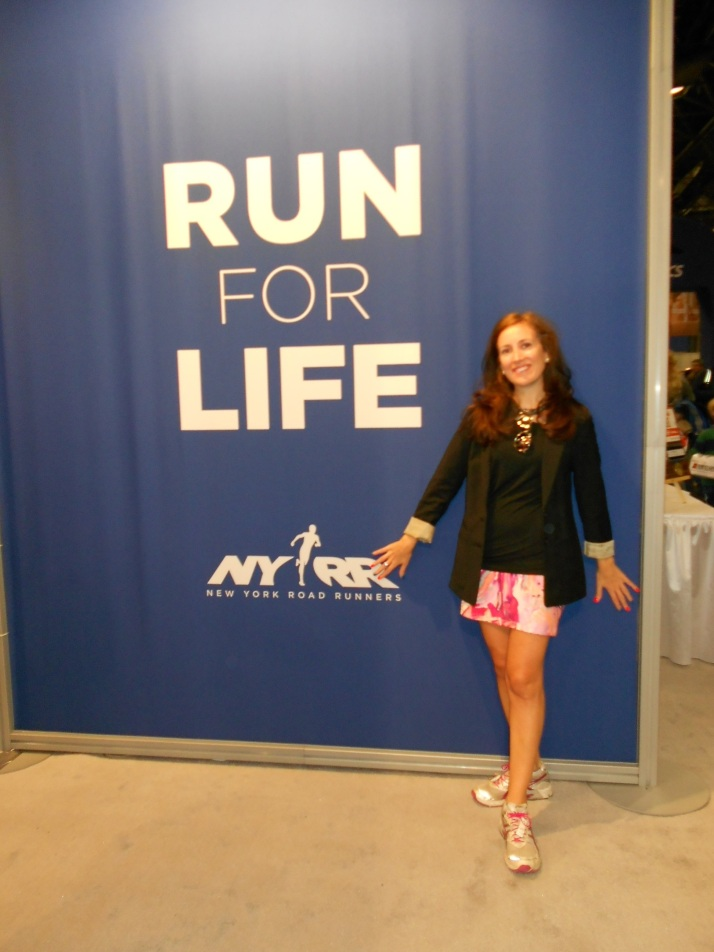 new york city marathon 2011 Footlocker five boro challenge nyrr expo elizabeth maiuolo (10)