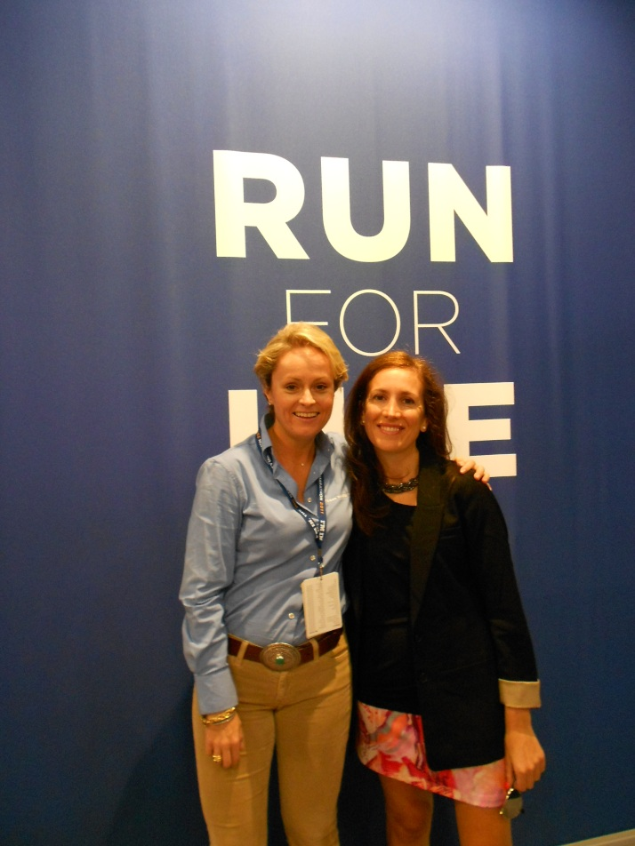 new york city marathon 2011 Footlocker five boro challenge nyrr expo elizabeth maiuolo (11)