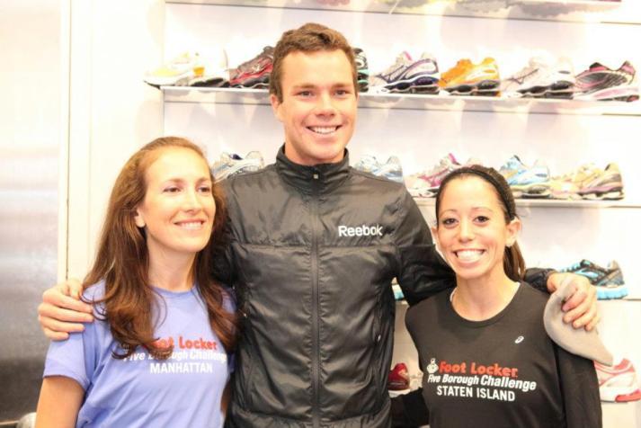 new york city marathon 2011 Footlocker five boro challenge nyrr expo elizabeth maiuolo run footlocker (1) bobby curtis