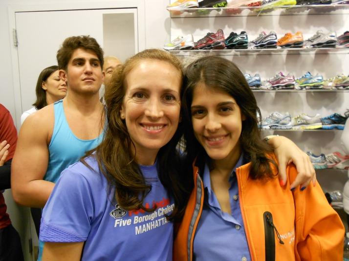 new york city marathon 2011 Footlocker five boro challenge nyrr expo elizabeth maiuolo run footlocker (13)