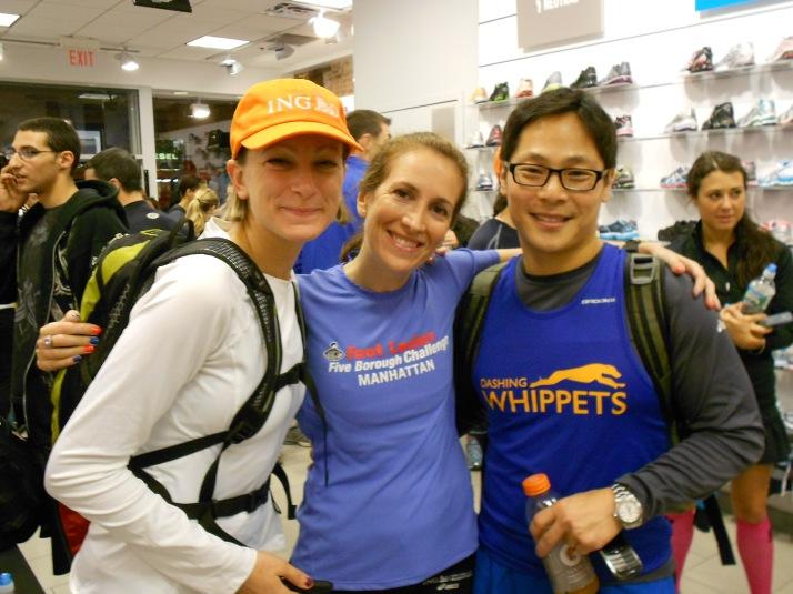 new york city marathon 2011 Footlocker five boro challenge nyrr expo elizabeth maiuolo run footlocker (22)