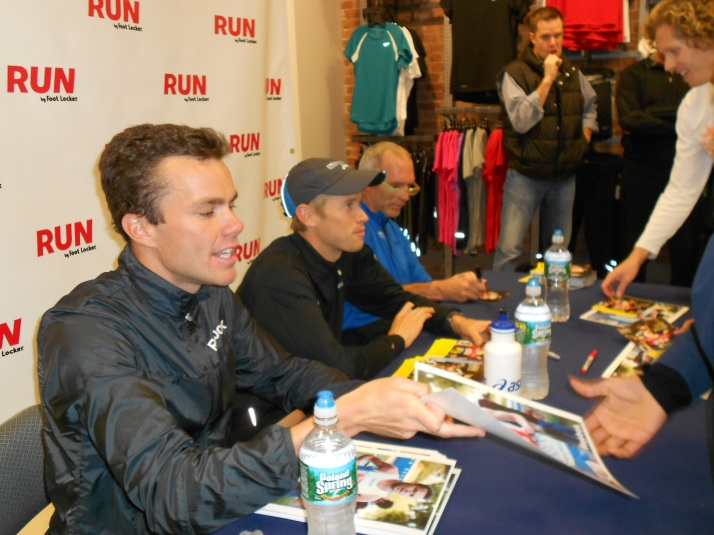 new york city marathon 2011 Footlocker five boro challenge nyrr expo elizabeth maiuolo run footlocker (23) bart yasso bobby curtis