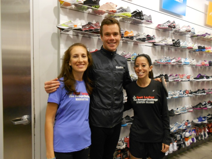 new york city marathon 2011 Footlocker five boro challenge nyrr expo elizabeth maiuolo run footlocker (1) bobby curtis