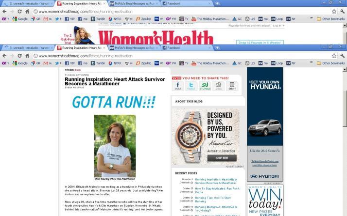 women's health elizabeth maiuolo inspiration