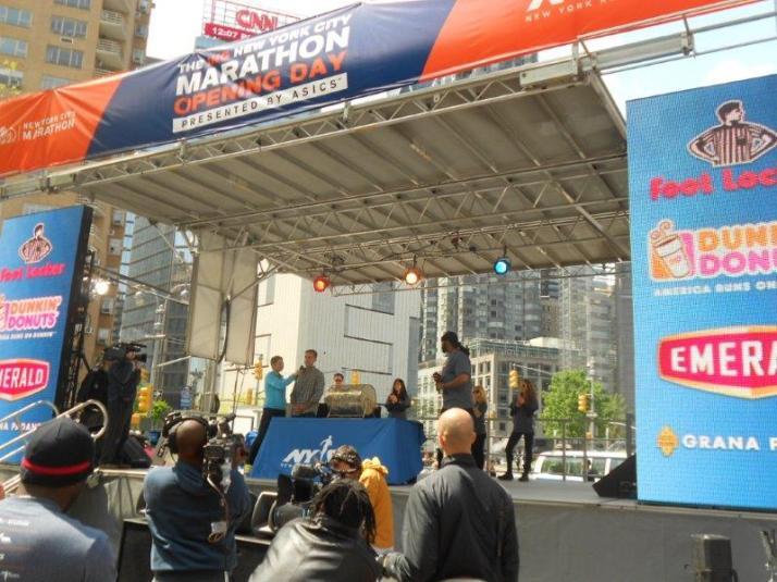 new york city marathon opening day (17) zeddie watkins