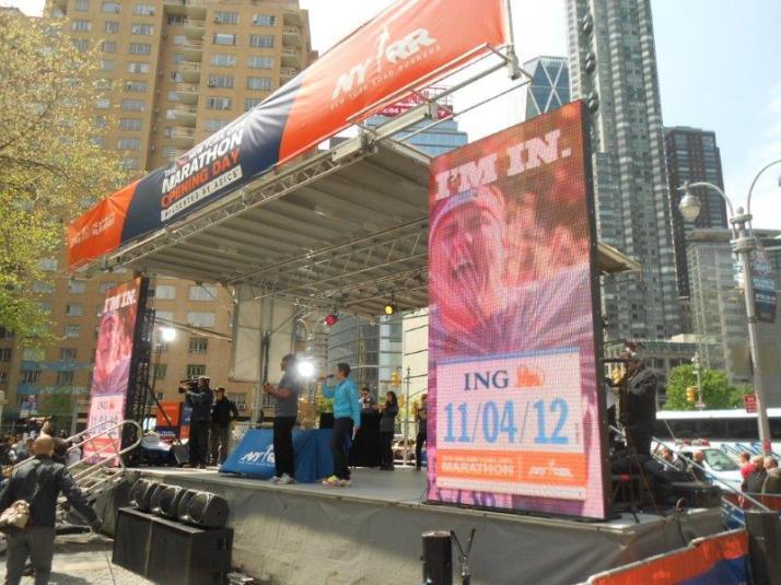 new york city marathon opening day victoria blumfield