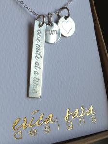 Erica Sara Designs Run Necklace