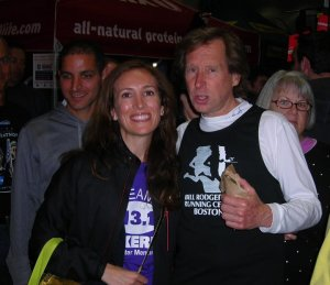 "Last time I saw Billy was in 2010 for the BAA Boston Marathon, when he told me ""Go get your Boston""... awwww"