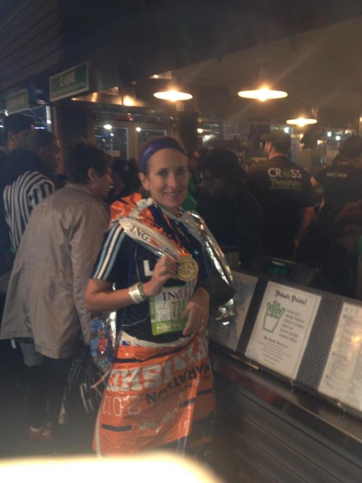 New York City Marathon Shake Shack
