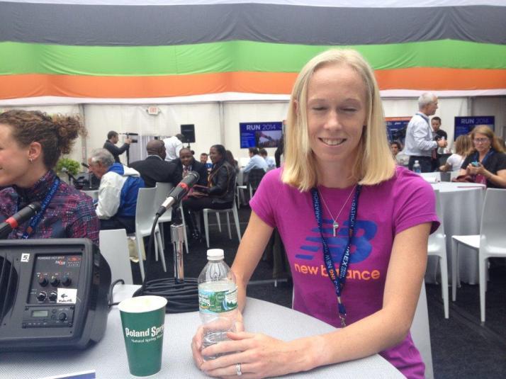 new york city marathon elite runners media kim smith
