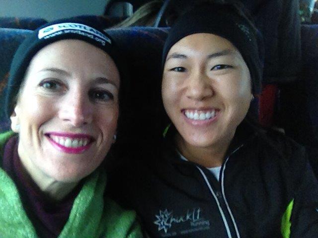 new york city marathon elizabeth maiuolo athlete's village (6)