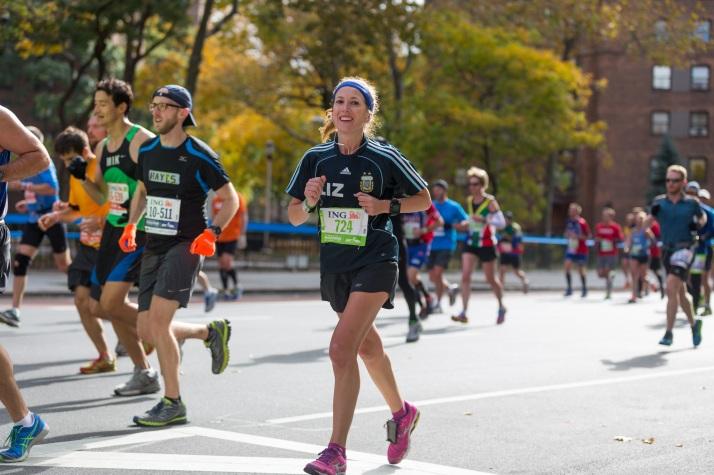 New York City Marathon elizabeth maiuolo harlem