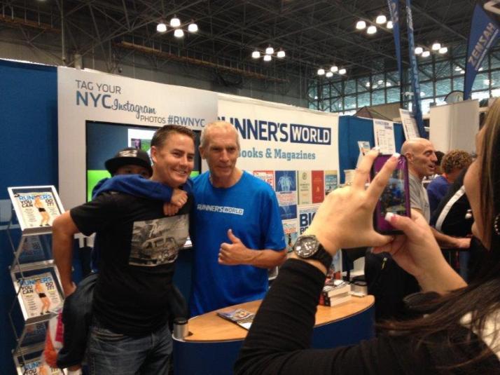new york city marathon expo elizabeth maiuolo bart yasso
