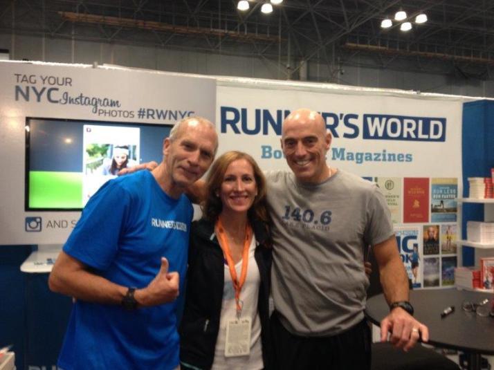 new york city marathon expo elizabeth maiuolo