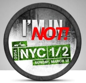 nychalf nyc half 2014 badge entries