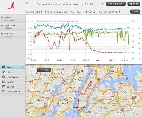 nyc half course elevation