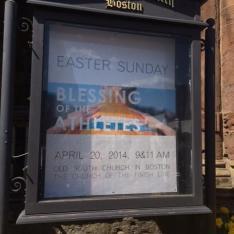 Easter weekend too, oops, forgot!