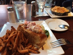 lobster roll for dinner!